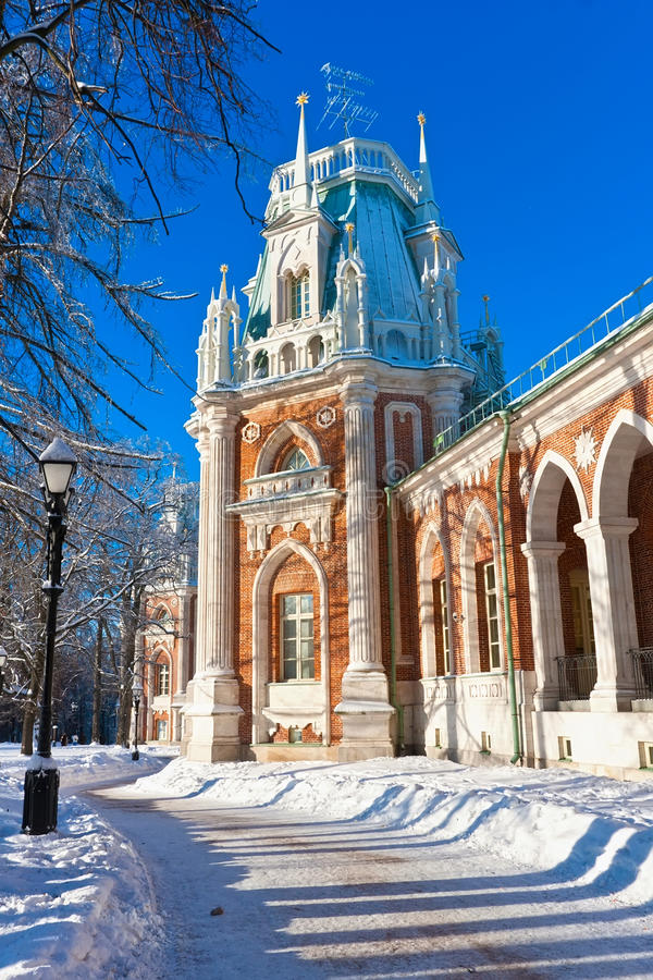 Tsaritsyno a Mosca immagine stock