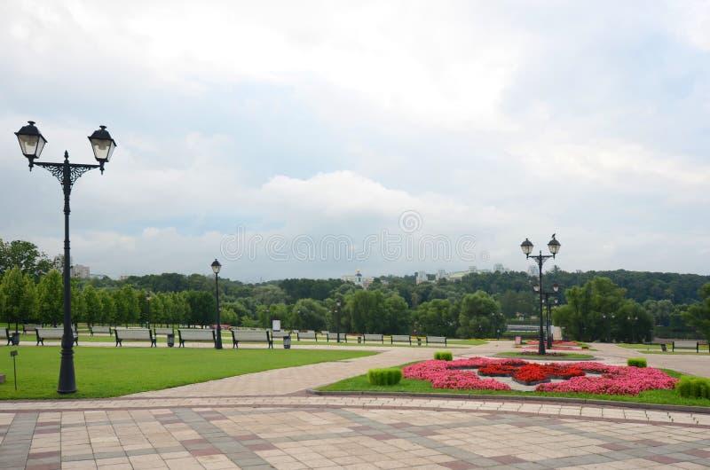 Tsaritsynopark, Moskou stock afbeelding