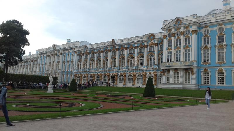Tsarovskoje selo palace royalty free stock photography