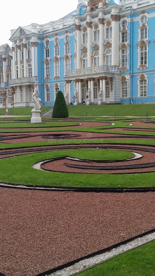 Tsarovskoje selo palace stock image