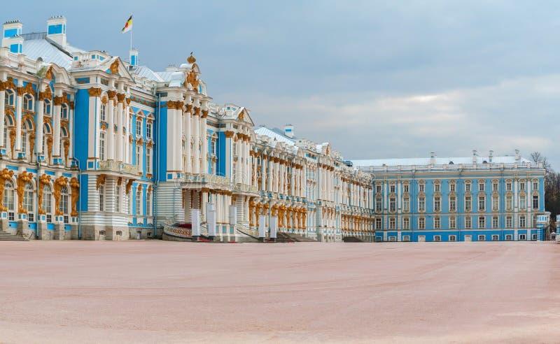 tsarskoe st selo petersburg России дворца Кэтрины стоковое изображение