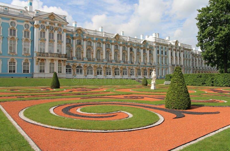 tsarskoye för selo för catherine slottpushkin russ arkivfoto