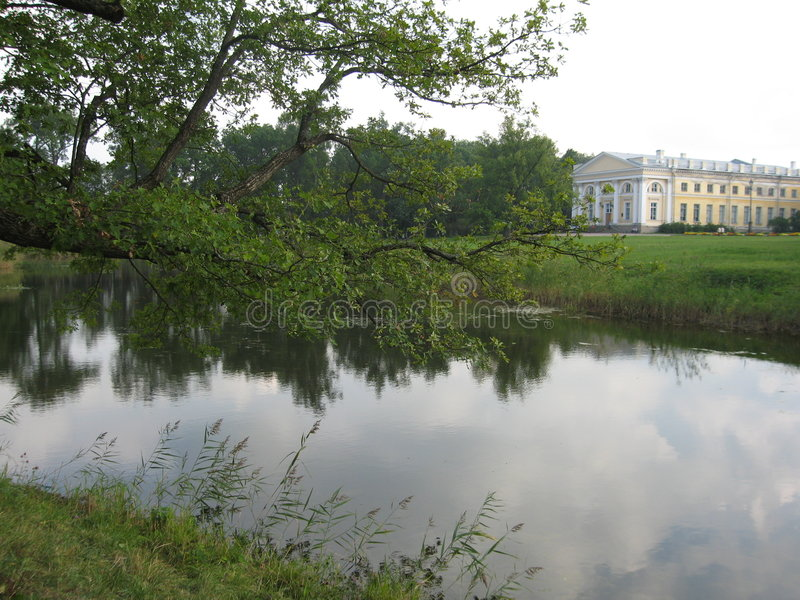 Tsarskoye selo, Russia, palace royalty free stock image