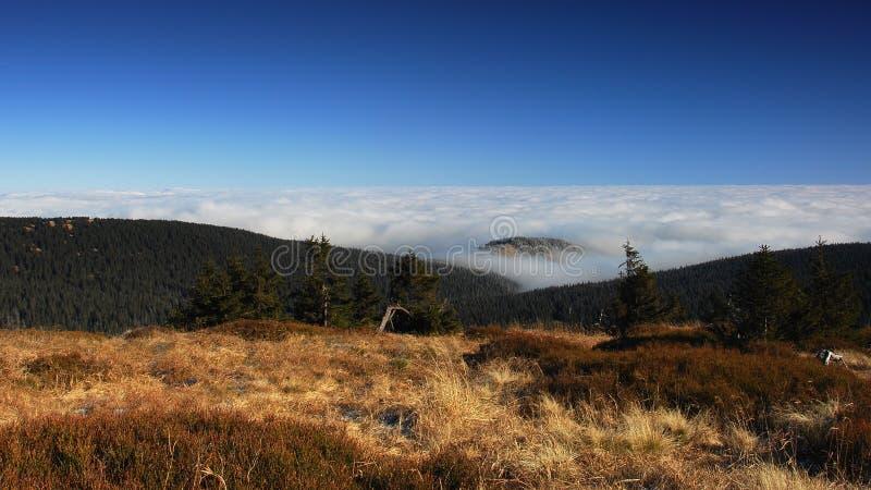 Tschechische Berge IV , Umstellung stockfotografie