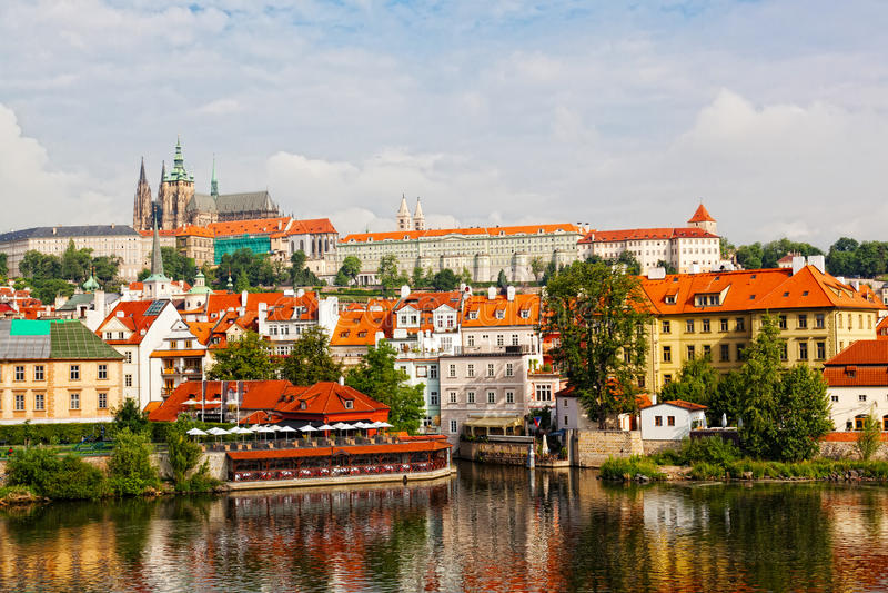 Download Tschechische Republik, Prag Stockbild - Bild von mittelalterlich, böhmisch: 27729309