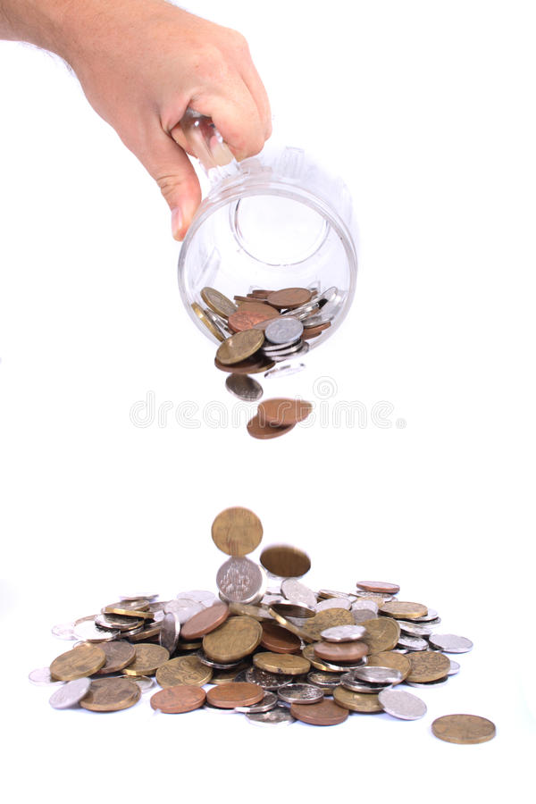 Tschechisches Geld stockfoto