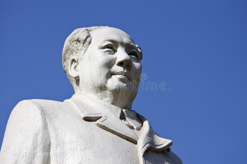 tse tung αγαλμάτων mao στοκ φωτογραφίες