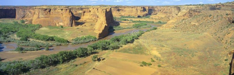 Tsegi negligencia, monumento nacional de Garganta de Chelly, o Arizona imagens de stock