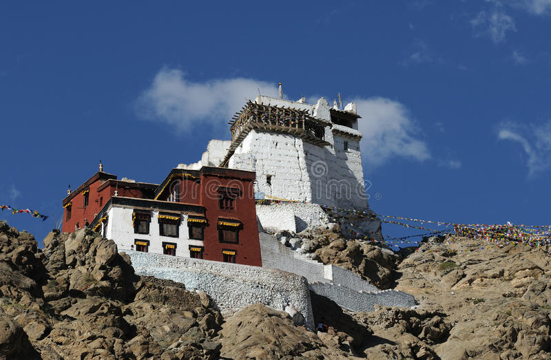 Download Tsemo monastery close up stock image. Image of kasjmir - 26000499