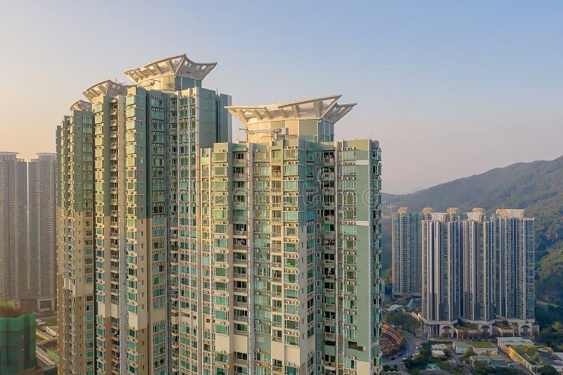 The Tseung Kwan O bay LOHAS Park hong kong 21 Okt 2019 stockbild