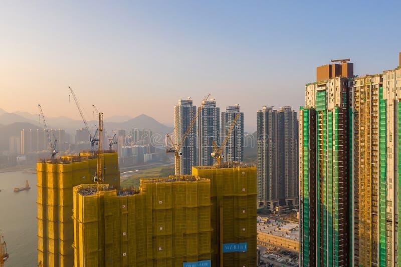 The Tseung Kwan O bay LOHAS Park hong kong 21 Okt 2019 lizenzfreies stockfoto