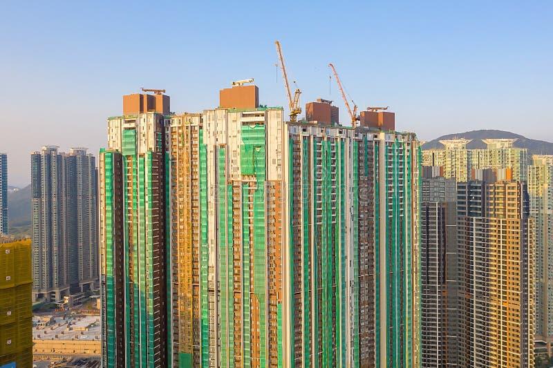 The Tseung Kwan O bay LOHAS Park hong kong 21 Okt 2019 lizenzfreie stockfotografie