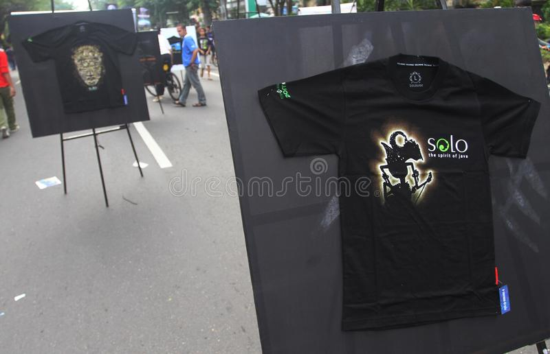 Download Tshirt exhibition editorial photography. Image of t, solo - 32299682