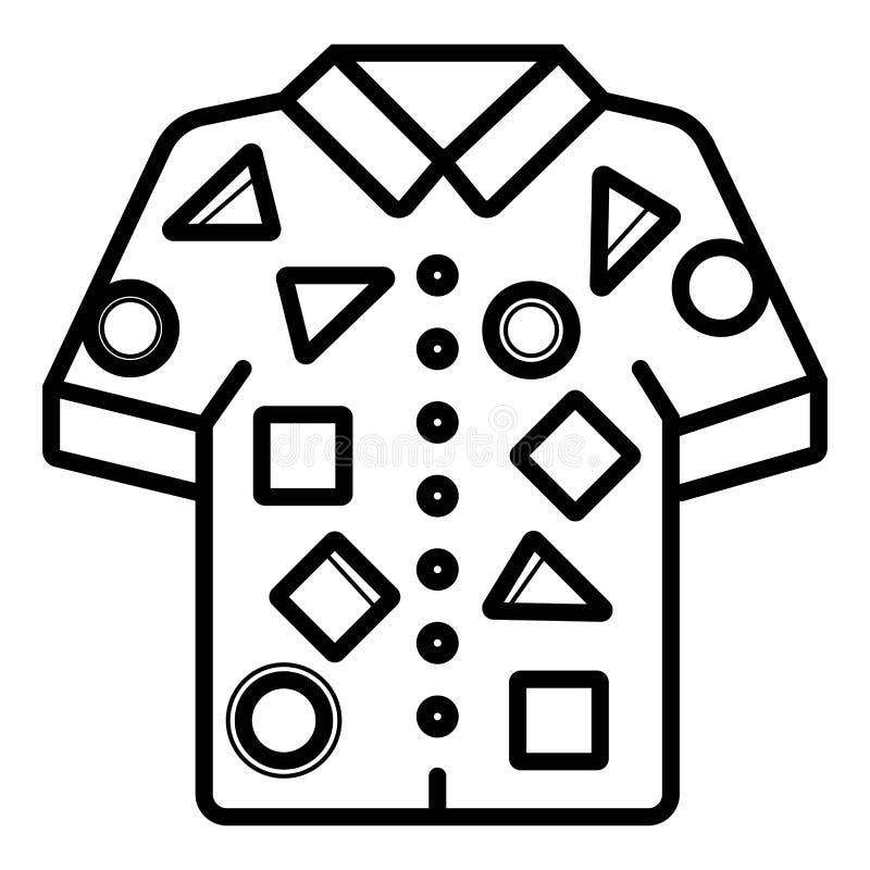 Tshirt icon vector royalty free illustration