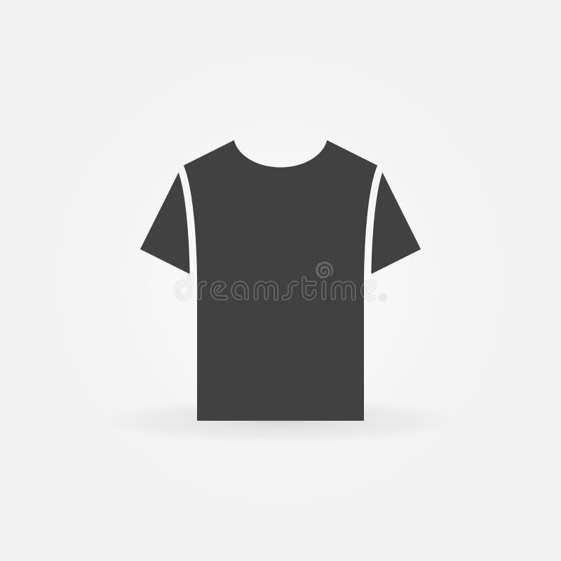 Tshirt ikona Wektorowy koszulka symbol ilustracji