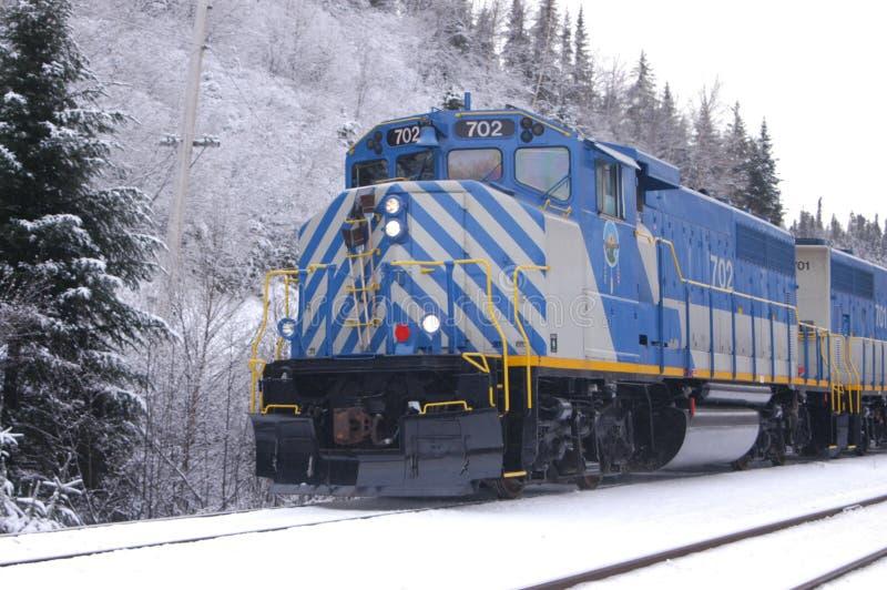 Tshiuetin Schienen-Transport lizenzfreies stockfoto