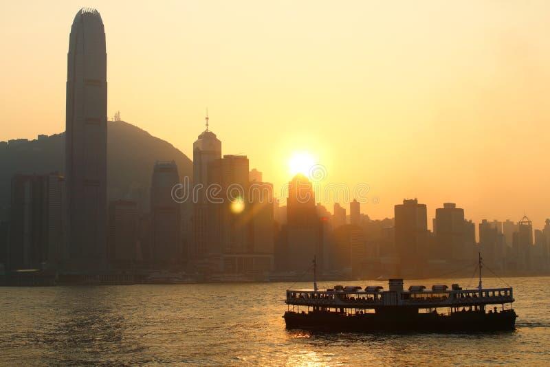 Tsim Sha Tsui royalty-vrije stock afbeeldingen