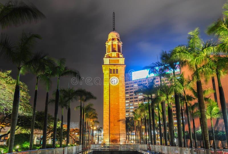 Tsim Sha Tsui Clock Tower, Hong Kong lizenzfreie stockfotografie