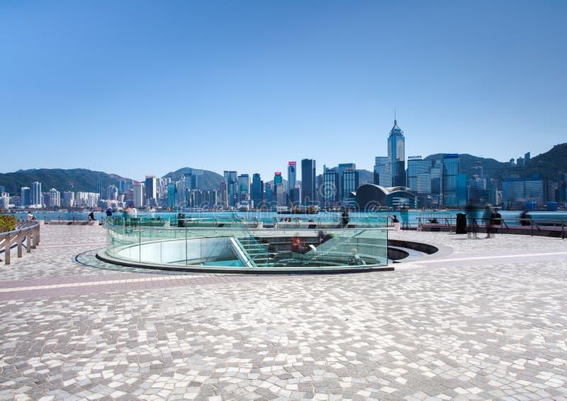 Tsim Sha Tsui Promenade lizenzfreies stockbild