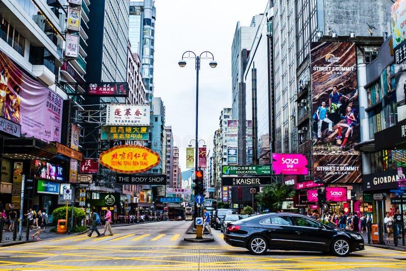 Tsim shatsui Hong Kong fotografering för bildbyråer