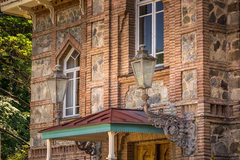 Tsinandalipaleis in Georgië royalty-vrije stock foto's