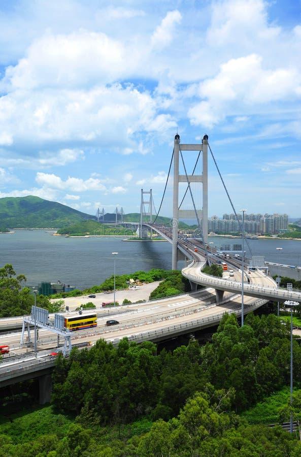 tsing的桥梁ma 免版税库存图片