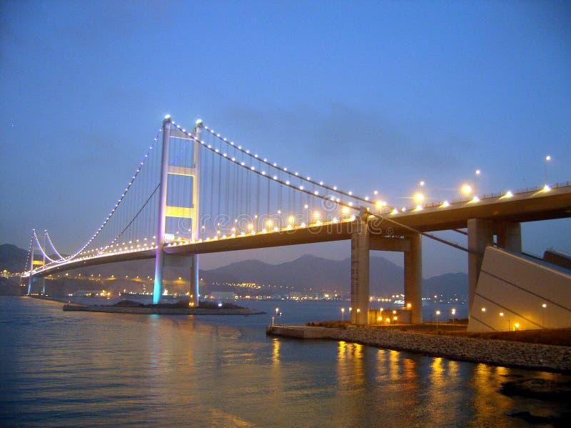 Tsing MA Brücke stockfoto