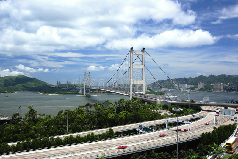 Download Tsing Ma Bridge Royalty Free Stock Images - Image: 15189819