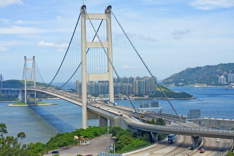 Tsing Ma Bridge images stock