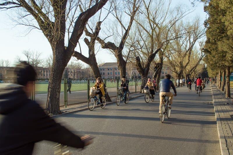 Tsinghua universitet arkivbilder