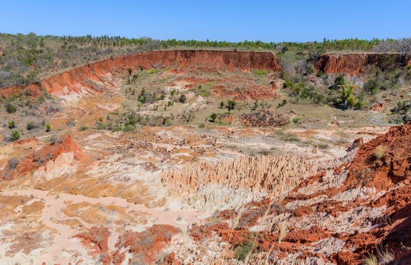 Tsingy in Ankarana Madagaskar lizenzfreies stockfoto