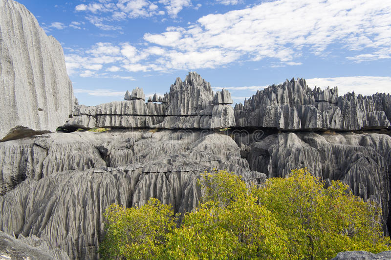 Tsingy de Bemaraha stock photo
