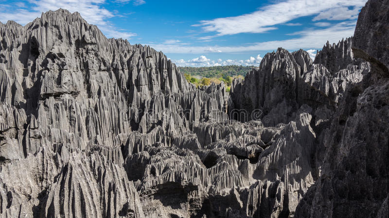 Tsingy de Bemaraha imagen de archivo libre de regalías
