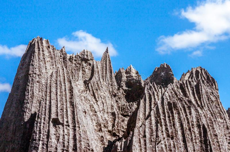 Tsingy van Ankarana royalty-vrije stock afbeeldingen