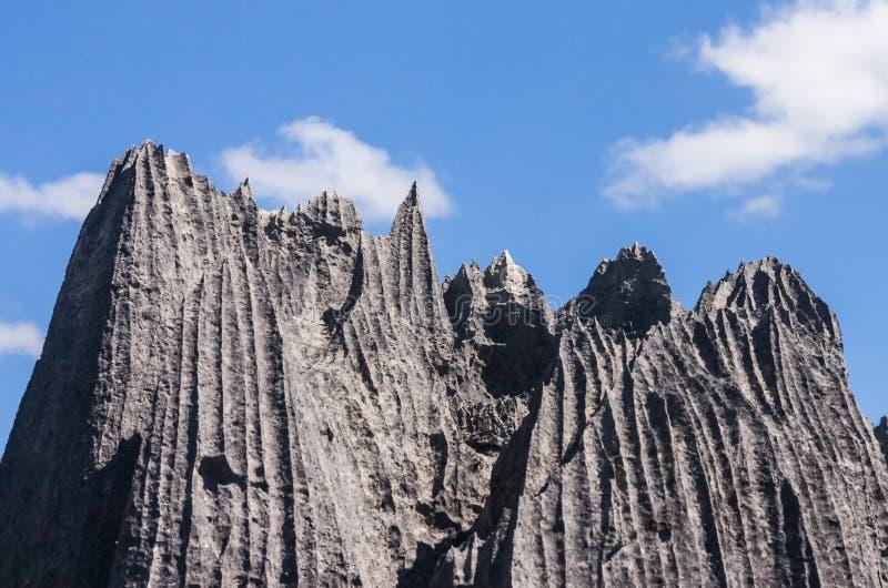 Tsingy van Ankarana royalty-vrije stock foto's