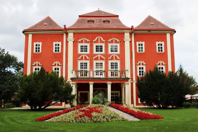 Tsjechisch kasteel Detenice royalty-vrije stock fotografie