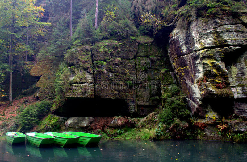 Tsjechisch paradijs royalty-vrije stock foto's
