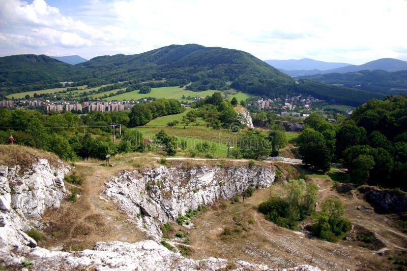Tsjechisch - Stramberk stock afbeelding