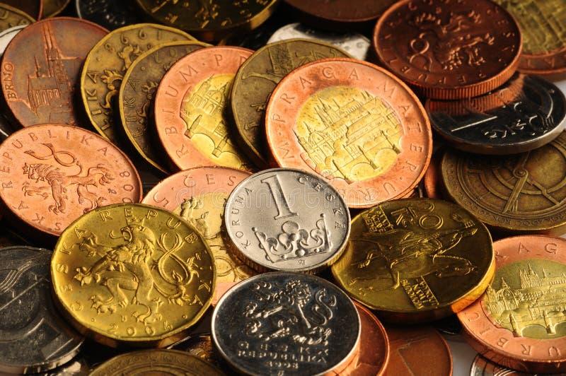 Tsjechische Kronen stock afbeeldingen