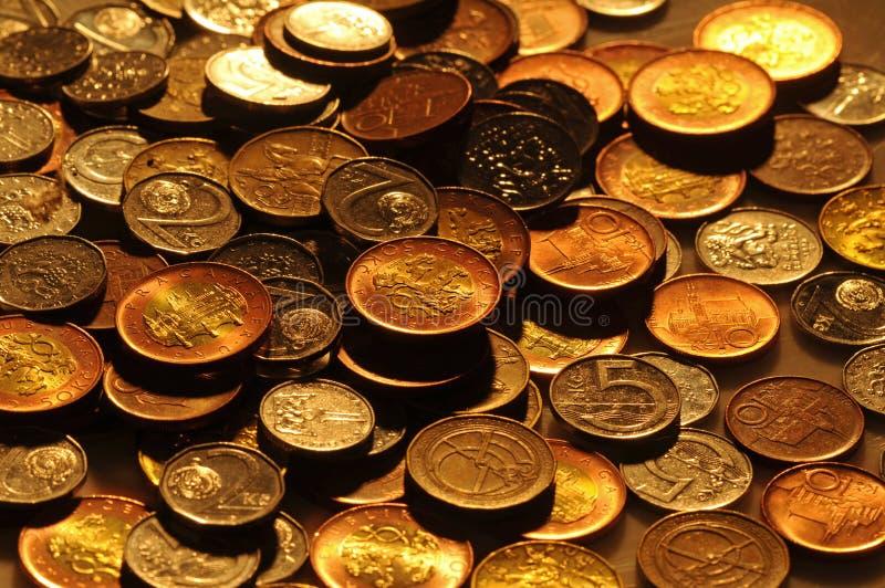 Tsjechische Kronen stock fotografie