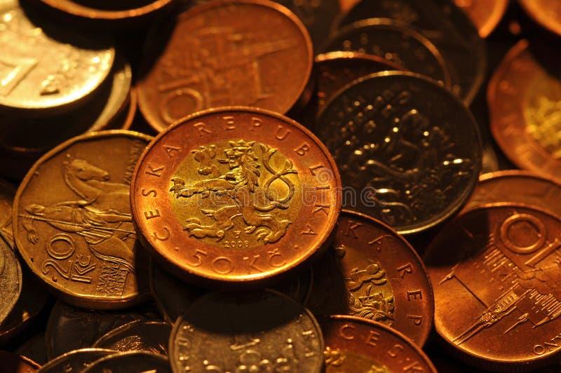 Tsjechische Kronen royalty-vrije stock afbeelding