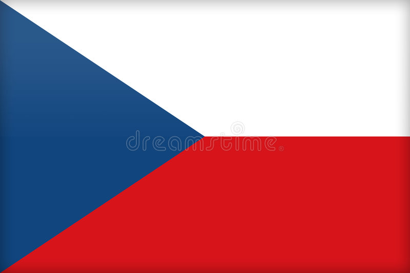 Tsjechische Republiek vector illustratie