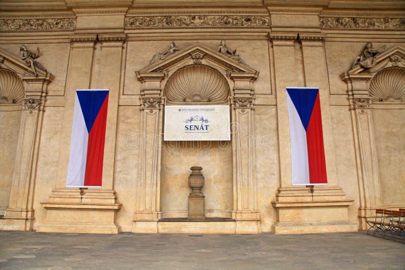 Tsjechische Senaat, Praag, Tsjechische Republiek stock foto