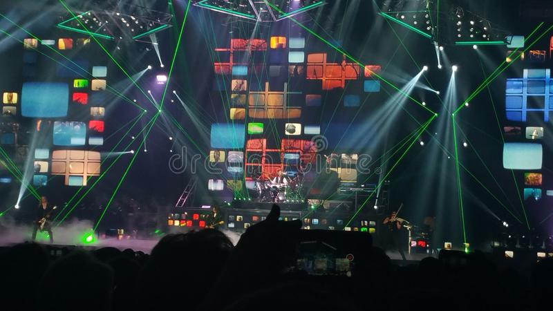 TSO Lightshow immagini stock libere da diritti