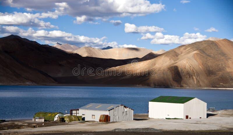 TSO-moriri lac dans Ladakh, Inde images libres de droits