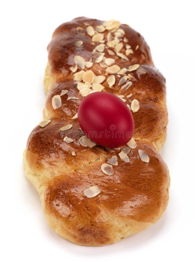 Tsoureki per pasqua (pane dolce) fotografie stock