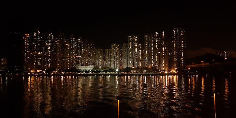 Tsuen Wan Skyline photo libre de droits