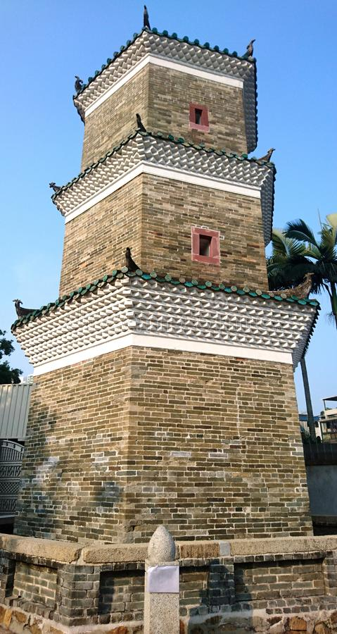 Tsui Sing Lau Pagoda stockfotos