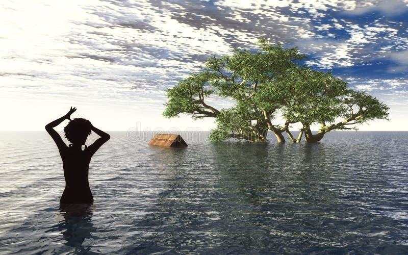 Tsunami Arkivbild