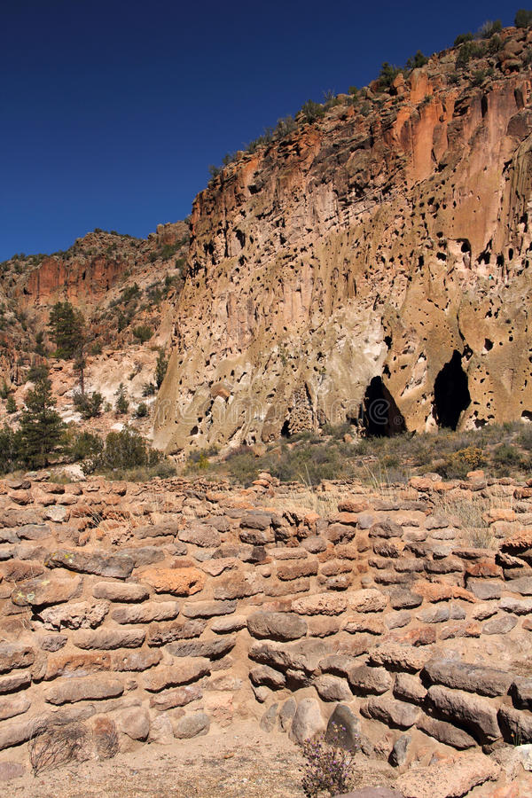 Tsuonyi Pueblo Ruins royalty free stock image